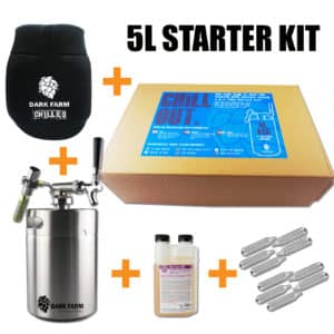 5L mini keg starter kit