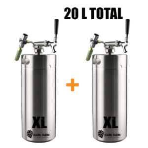20 l min keg growler c02 draught sytem