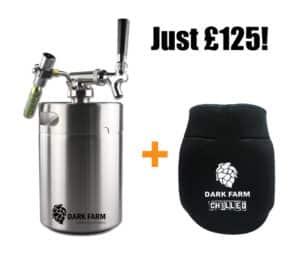 5L mini keg with free ice jacket