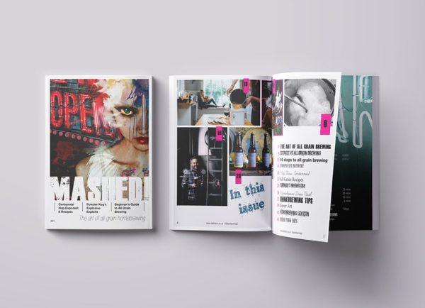 MASHED! homebrewing magazine