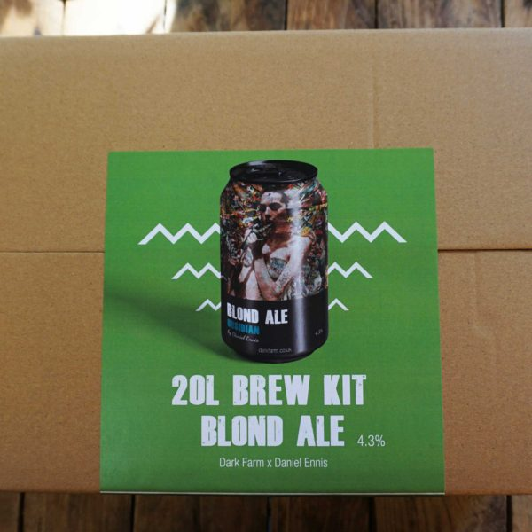 Blonde ale homebrew kit