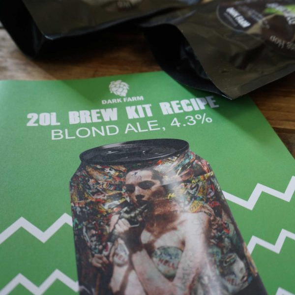 Blond Ale homebrew kit
