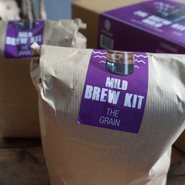 Mild homebrew kit grains